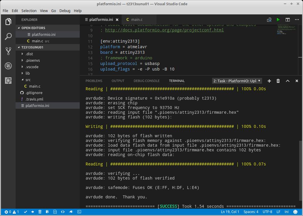 Visual Studio Code Remote Build