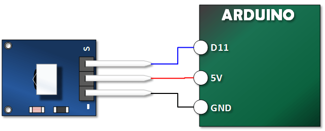 Arduino Xinda Remote Tutorial Connections