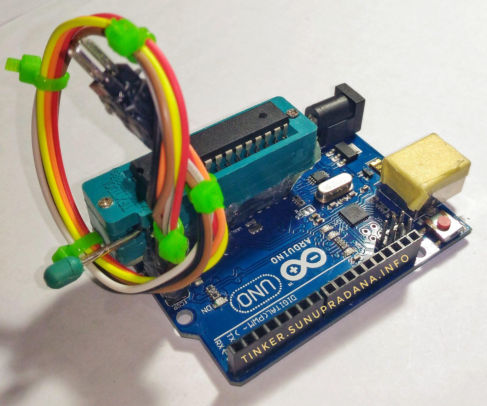 Arduino Uno Tinker Ic Atmega328 Atmega 328 Sudah Bootloader Gambar 1