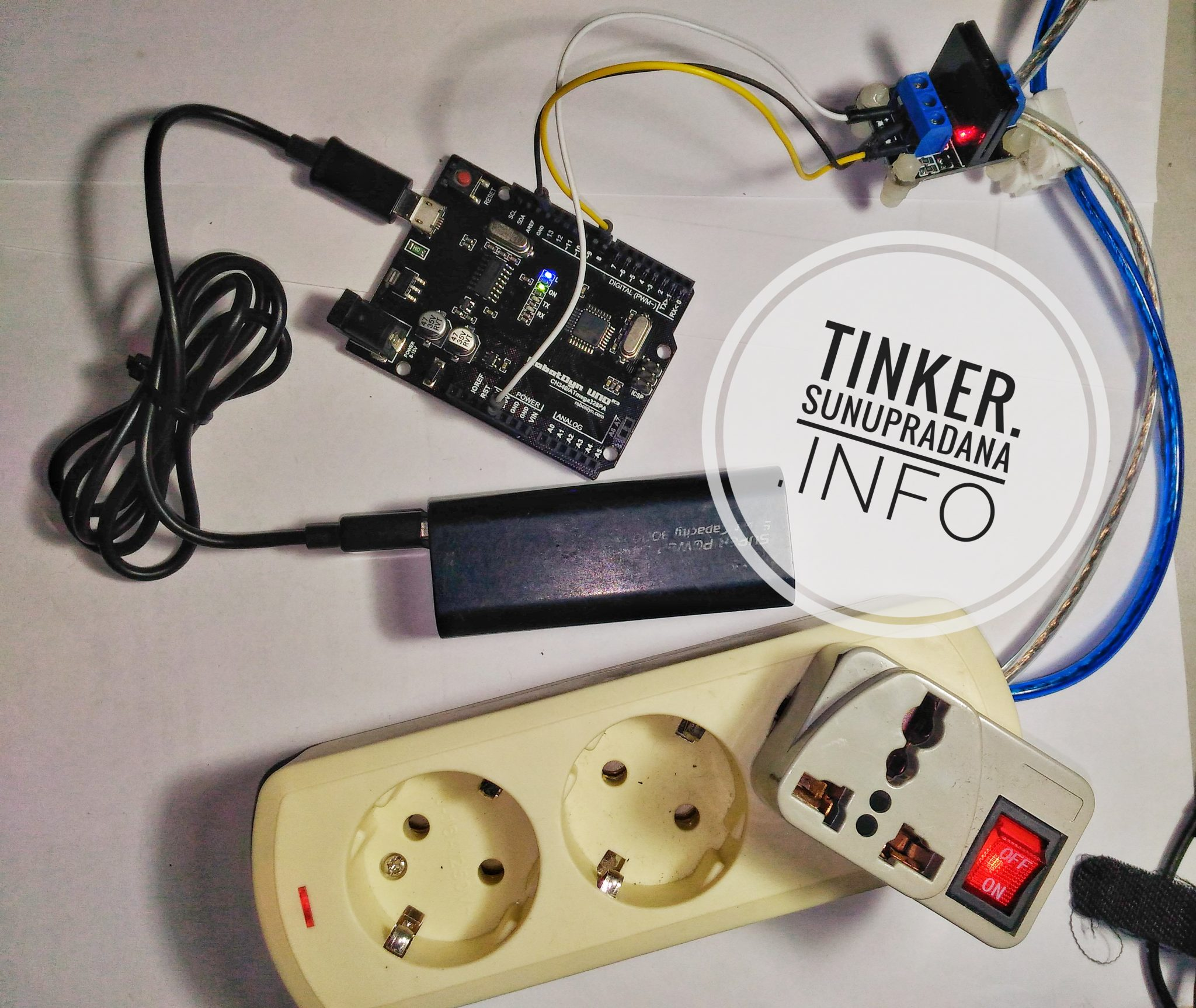 Modul Solid State Relay Tinker Example Gambar 12