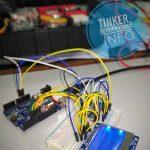 LCD Nokia 5110 + sistem Arduino