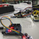 PCF8591: 8-bit A/D and D/A converter { ADC }