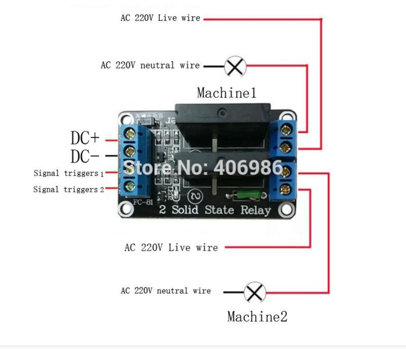 Image result for arduino omron ssr wiring AC