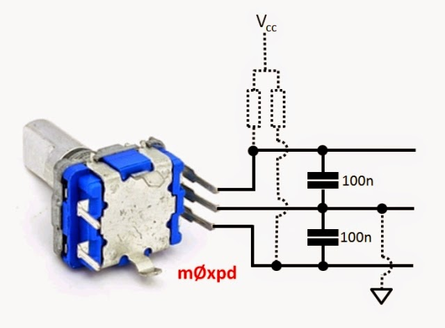 What Is Killing My Mosfets as well Penggunaan Rotary Encoder Di Sistem Arduino also Electricitythroughwirelesstransmission Witricity130318051721phpapp01 together with Thread75021 additionally NAND 2 Input TTL. on capacitor circuit diagram