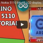 """Belajar penggunaan LCD """"Nokia 5110"""" di sistem Arduino [video]"""